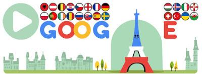 Google nos recuerda el inicio de la Eurocopa 2016 con su doodle del día