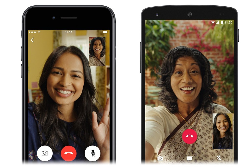 Las videollamadas llegan a WhatsApp