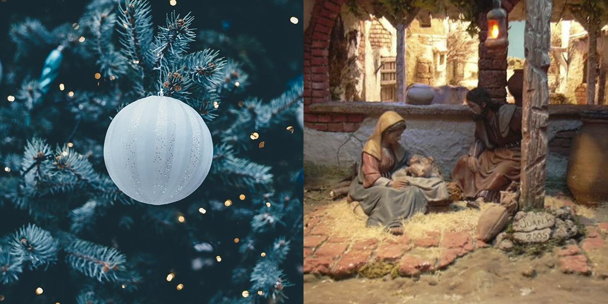 Árbol de Navidad o belén, ¿tú de qué eres?