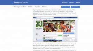 Lee más sobre el artículo Facebook lanza su propia plataforma de trabajo