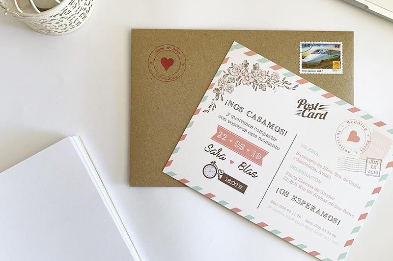 Ideas a tener en cuenta para diseñar tus invitaciones de boda